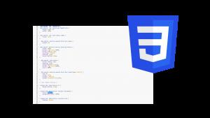 CSS coding logo