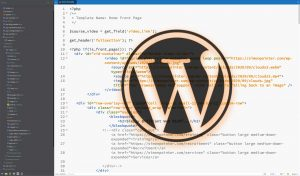 Featured image for find which wordpress template file